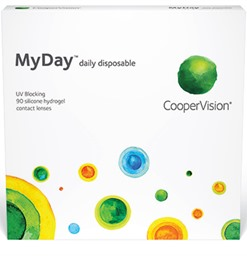 MyDay Contact Lenses Box of 90