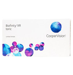 Biofinity Toric XR Box of 6 Lenses