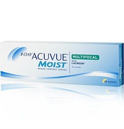 1 Day Acuvue Moist Multifocal Contact Lenses Box of 30