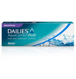 Dailies AquaComfort Plus Multifocal Contact Lenses 30 Pack