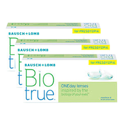 Biotrue ONEday For Presbyopia Box of 90 Contact Lenses