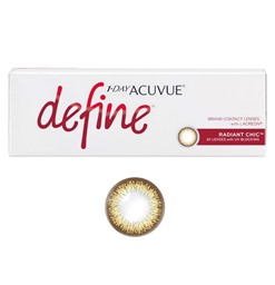 Acuvue Define Radiant Chic