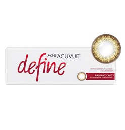 Acuvue Define Radiant Chic Cosmetic Lenses
