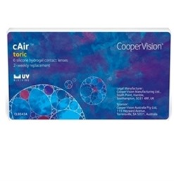 cAir Toric Contact Lenses