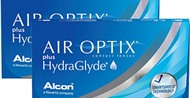 Air Optix Plus HydraGlyde 6 Lens Value Pack