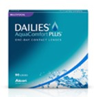 Dailies AquaComfort Plus Multifocal Contact Lenses Box of 90