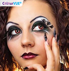 Red Contact Lenses By Colourvue