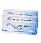 Acuvue Moist 1 Day Multifocal Contact Lenses Box of 90